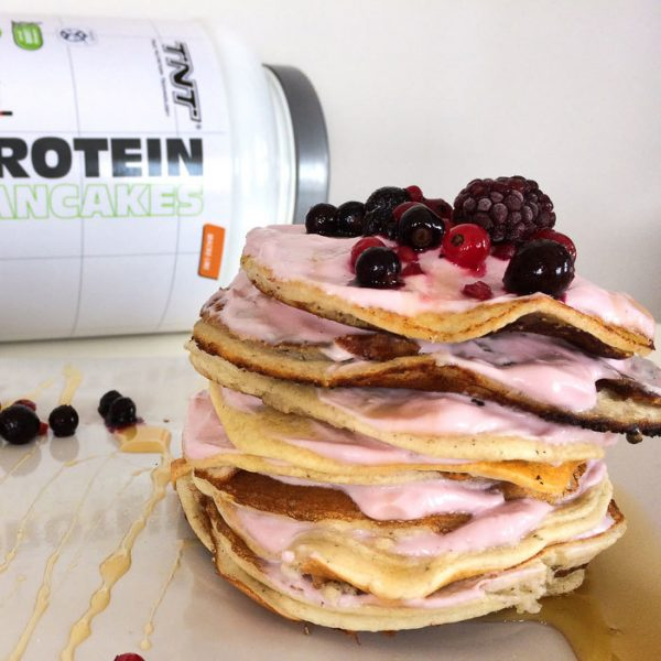 TNT Protein Pancakes Anwendung