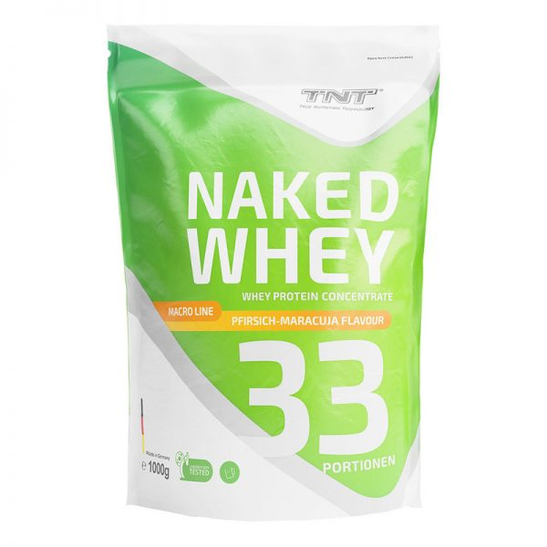 tnt naked whey pfirsich maracuja